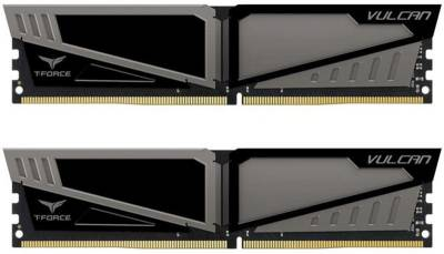 Оперативная память Team T-Force Vulcan Gray DDR4 32Gb (2x16Gb) 2666MHz CL15 Kit TLGD432G2666HC15BDC01