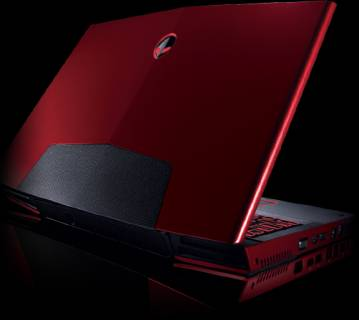 Ноутбук Dell Alienware M17x 210-27829Red