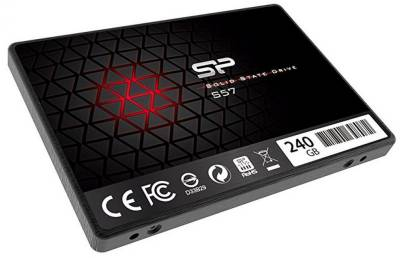 Внутренний HDD/SSD Silicon Power Slim S57 240Gb TLC SP240GBSS3S57A25