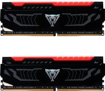 Оперативная память Patriot Viper LED Red DDR4 16Gb (2x8Gb) 3000MHz CL15 Kit PVLR416G300C5K