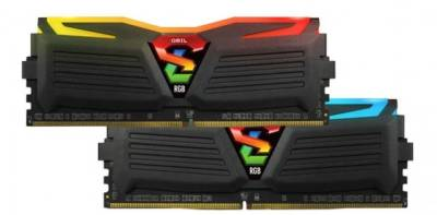 Оперативная память Geil Super Luce Black RGB Sync LED DDR4 16Gb (2x8Gb) 3000MHz CL16 Kit GLS416GB3000C16ADC