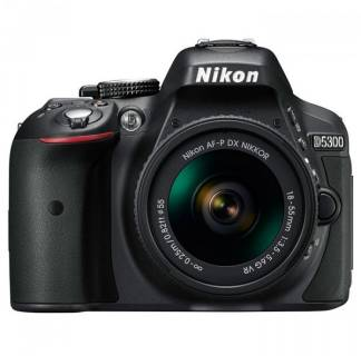Фотоаппарат Nikon D5300 Kit 18-55 mm f/3.5-5.6G VR AF-P DX VBA370K007