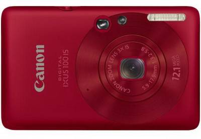 Фотоаппарат Canon IXUS 100 IS (Red) 3596B001