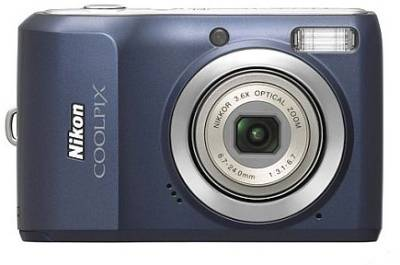 Фотоаппарат Nikon CoolPix L20 (Blue)