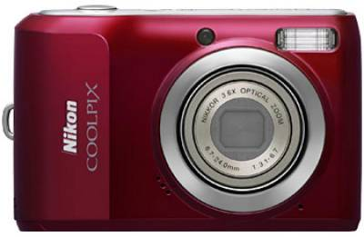 Фотоаппарат Nikon CoolPix L20 (Red) VMA362E6