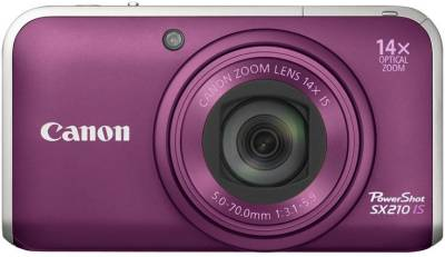 Фотоаппарат Canon PowerShot SX210 IS (Purple) 4247B002