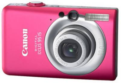 Фотоаппарат Canon IXUS 95 IS (Pink) 3456B001