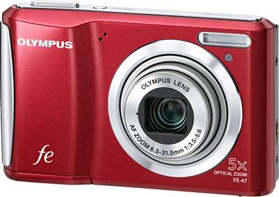 Фотоаппарат Olympus FE-47 (Red)