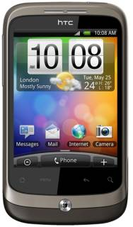 Смартфон HTC Wildfire Black A3333