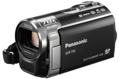 Видеокамера Panasonic Flash SDR-T50 (Black) SDR-T50EE-K