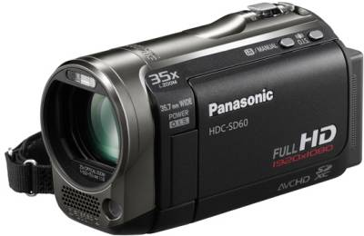 Видеокамера Panasonic Flash HDC-SD60 (Black) HDC-SD60EE-K