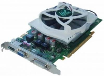 Видеокарта Inno3D PCI-E N GeForce GTS250 Green N25C-4DDV-D3DX