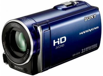 Видеокамера Sony HD-Camcoder HDR-CX110 (Blue) HDR-CX110EL