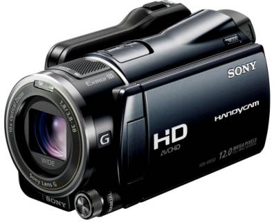 Видеокамера Sony HD-HDD camcoder HDR-XR550E