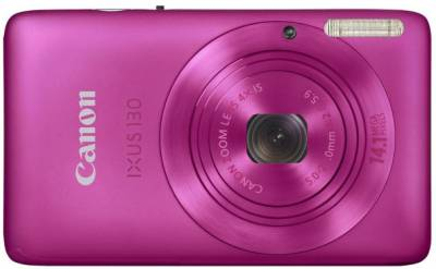 Фотоаппарат Canon IXUS 130 IS (Pink) 4187B001, 4186B028