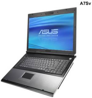Ноутбук ASUS A7 (A7R00Sv) A7Sv-T770SCEGAW