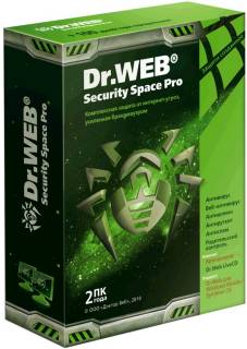 Антивирус Dr.Web Anti-Virus Dr.Web Security Space PRO 6.0 For Windows BFW-W12-0002-6