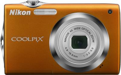 Фотоаппарат Nikon CoolPix S3000 (Orange) VMA545E1