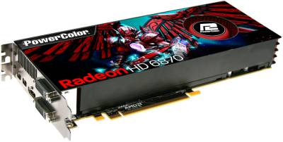 Видеокарта PowerColor Radeon HD6870 1GB AX6870 1GBD5-M2DH