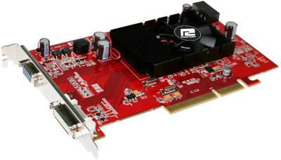 Видеокарта PowerColor AGP Radeon HD3450 512MB AG3450 512MD2-V2