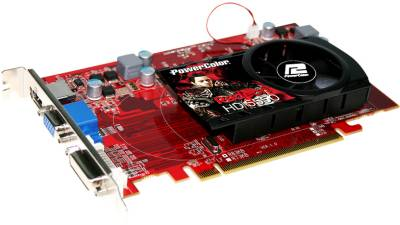 Видеокарта PowerColor Radeon HD5550 1GB AX5550 1GBK3-H