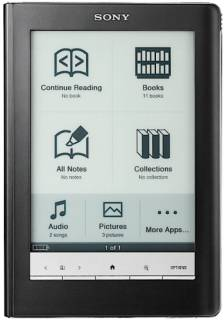 Электронная книга Sony Reader PRS-600 (Black)