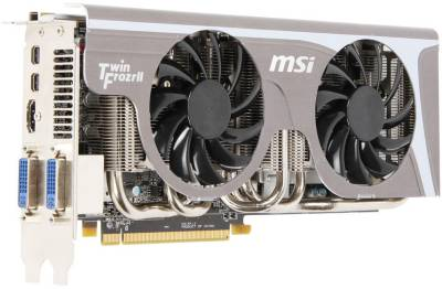 Видеокарта MSI Radeon HD6950 2GB  Twin Frozr II/OC R6950 Twin Frozr II/OC