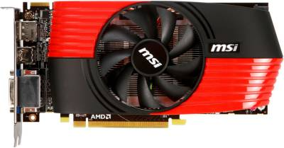 Видеокарта MSI Radeon HD6850 1GB R6850-PM2D1GD5/OC