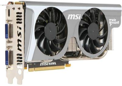 Видеокарта MSI GeForce GTX460 1GB HAWK-TALON N460GTX HAWK-talon