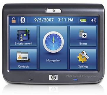 Авто-Навигатор HP iPAQ 316 Travel Companion FA977AA