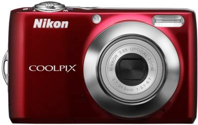 Фотоаппарат Nikon CoolPix L22 (Red) VMA572E6