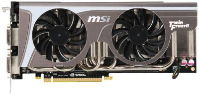 Видеокарта MSI GeForce GTX570 1280MB Twin Frozr II/OC N570GTX Twin Frozr II/OC