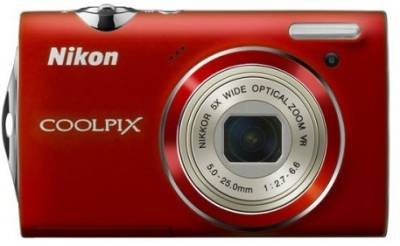 Фотоаппарат Nikon CoolPix S5100 (Red) VMA642E1