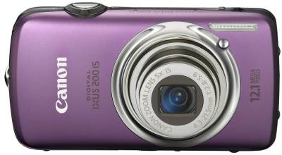 Фотоаппарат Canon IXUS 200 IS (Purple) 3986B001