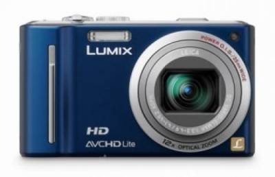 Фотоаппарат Panasonic Lumix DMC-TZ10 (Blue) DMC-TZ10EE-A