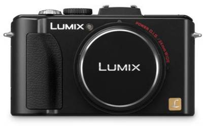 Фотоаппарат Panasonic Digital DMC-LX5 Black DMC-LX5EE-K