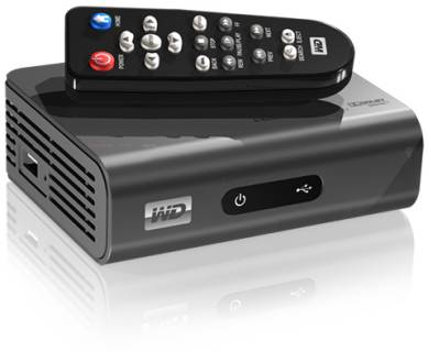 HD Media Player Western Digital WD TV Live WDBAAP0000NBK-EESN