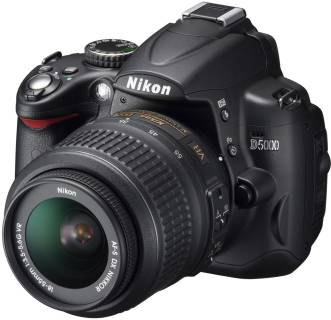 Фотоаппарат Nikon Digital D5000 Body VBA240AE