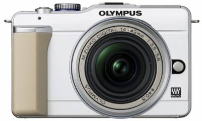 Фотоаппарат Olympus PEN E-PL1 DZK (White - Silver) N3845592