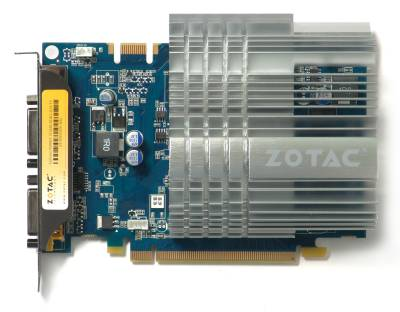 Видеокарта ZOTAC GeForce 9500GT 512MB ZONE ZT-95TEH3P-HSL