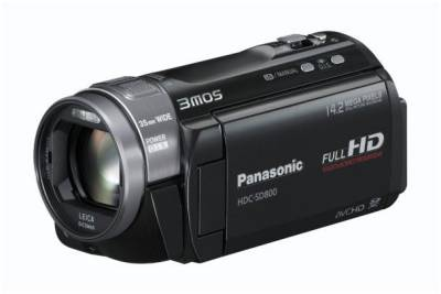 Видеокамера Panasonic HDC-SD800 (Black) HDC-SD800EEK