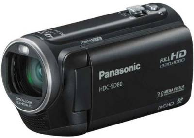 Видеокамера Panasonic SD-Camcoder HDC-SD80 (Black) HDC-SD80EEK