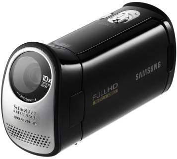 Видеокамера Samsung HD-Camcoder T10 (black) HMX-T10BP/XER