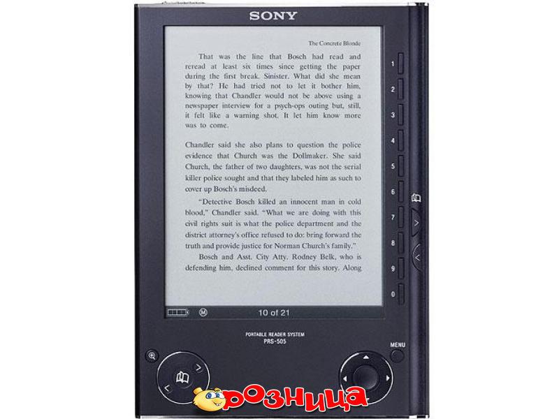 Электронные книги Электронная книга Sony PRS 505-Blue. Компьютерная техник